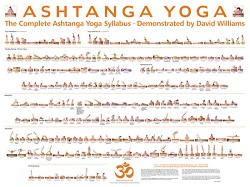 David Williams Poster Ashtanga Yoga